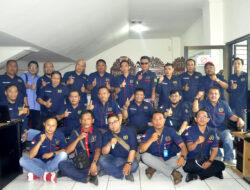 Kedatangan PWI Muba Disambut Hangat PWI Kota Bandung