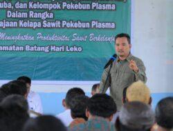 Wabup Muba Beni Hernedi Tegaskan Agar Warga BHL Bersatu Sukseskan Program PSR