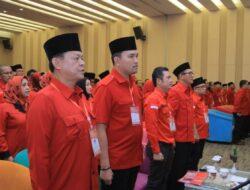 "Angkat Tema ""Solid Bergerak"" di Rakerda I, PDI-Perjuangan Merahkan Provinsi Sumsel"