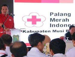 Dukung Upaya Pemkab, PMI Muba Ajak Perusahaan Kerjasama Cegah COVID-19