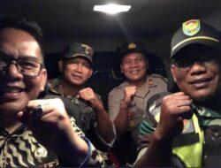 Camat Rambutan bersama Kapolsek, Danramil dan Danki Ar-Hanud Sinergi Sosialisasi Pencegahan Covid-19