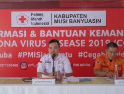 PMI Muba Siapkan 20.000 Liter Disinfektan Bantu Warga Cegah COVID-19