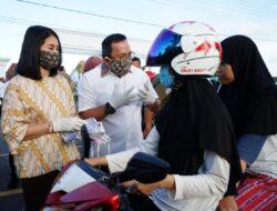 Bupati DRA Sebut Gerakan Masker Muba Sebagai Sumbangsih Kita ke Warga Mencegah Penyebaran Covid-19