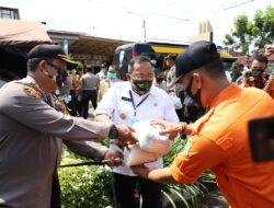 Bupati Muba Luncurkan Gerakan Bhakti Sosial Polda Sumsel Peduli Covid-19 di Muba
