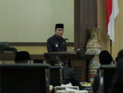 Tiga Raperda Inisiatif Eksekutif dan Dua Raperda Prakarsa DPRD Muba Disampaikan