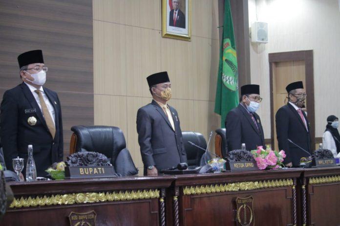 Bupati Muba dan Pimpinan DPRD Muba