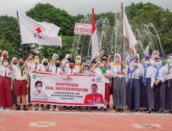 PMI Muba Kirim Kader PMR Tingkat SD, SMP SMA di Ajang Jumbara Ke VIII Tingkat Provinsi Sumsel