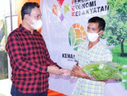 Beni Hernedi Dorong Urban Farming Untuk Muba Berdaulat Pangan