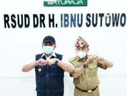 Gubernur Sumsel Herman Deru Resmikan RSUD dr H Ibnu Sutowo Baturaja