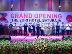 Herman Deru Resmikan The Zuri Hotel Baturaja