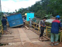 Besi Jembatan Penghubung Kecamatan Digondol Maling