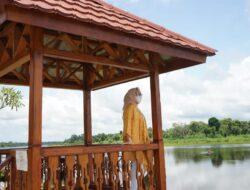 Senator Eva Susanti Beri Apresiasi Pengembangan Objek Wisata Danau Ulak Lia