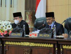 DPRD Muba Sampaikan Laporan Pansus Atas LKPJ Bupati Muba TA 2020