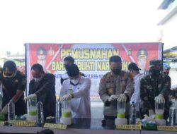 Polres Muba Musnakan 1,4 Kg Sabu