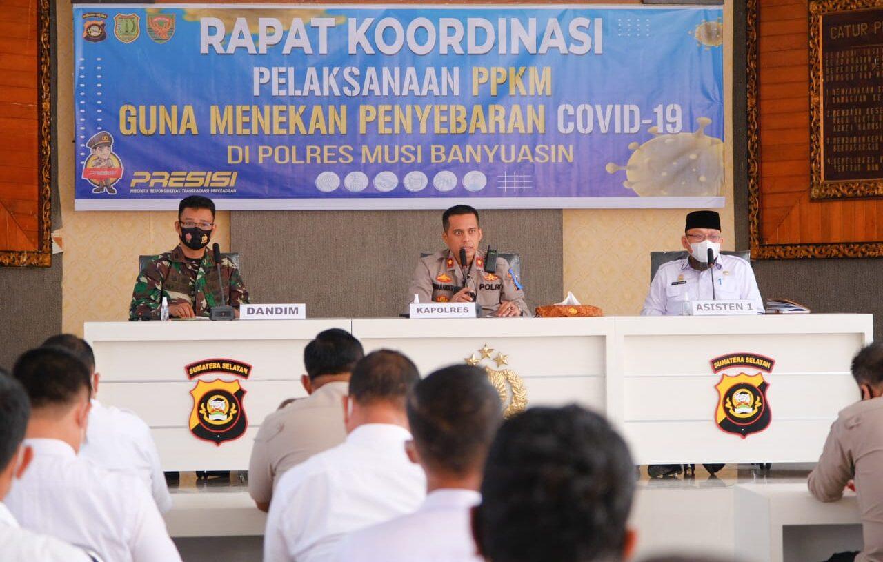 Mayoritas Warga Patuhi Prokes COVID-19, Penerapan PPKM di Muba Tidak Terasa Rumit