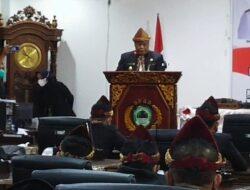 DPRD Gelar Rapat Paripurna Peringati HUT Kabupaten PALI Ke-8