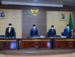 DPRD Setujui Pertanggungjawaban APBD Muba TA 2020