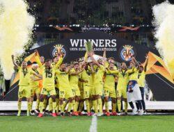Kalahkan Man United Adu Penalti Villarreal Juara Liga Europa