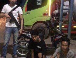 Polsek Pemulutan Sergap Komplotan Pencuri Bobol PT Parya Beton