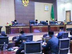 Paripurna DPRD Muba Dengarkan Usulan Raperda Pemerintah
