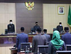 Delapan Fraksi DPRD Muba Sampaikan Pandangan Umum