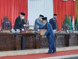 Paripurna Pemandangan Umum Fraksi DPRD Provinsi Sumsel