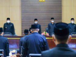 Bupati Muba Sampaikan Perubahan KUA dan PPAS 2021