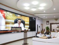Wakil Gubernur Sumsel Ikuti Webinar P4GN Kemenko Polhukam RI