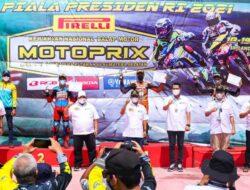 Pembalap PPLPD Muba Raih Juara Motoprix Piala Presiden RI