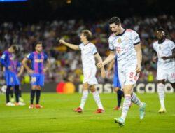 Bayern Bantai Barcelona di Camp Nou dengan Skor 3-0