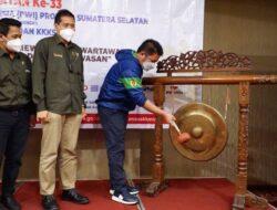 Herman Deru Buka Kegiatan Uji Kompetensi Wartawan di Beston Hotel Palembang