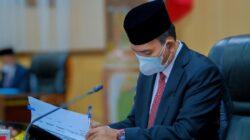 Penandatangan Persetujuan Bersama 2 Raperda Prakarsa DPRD Musi Banyuasin